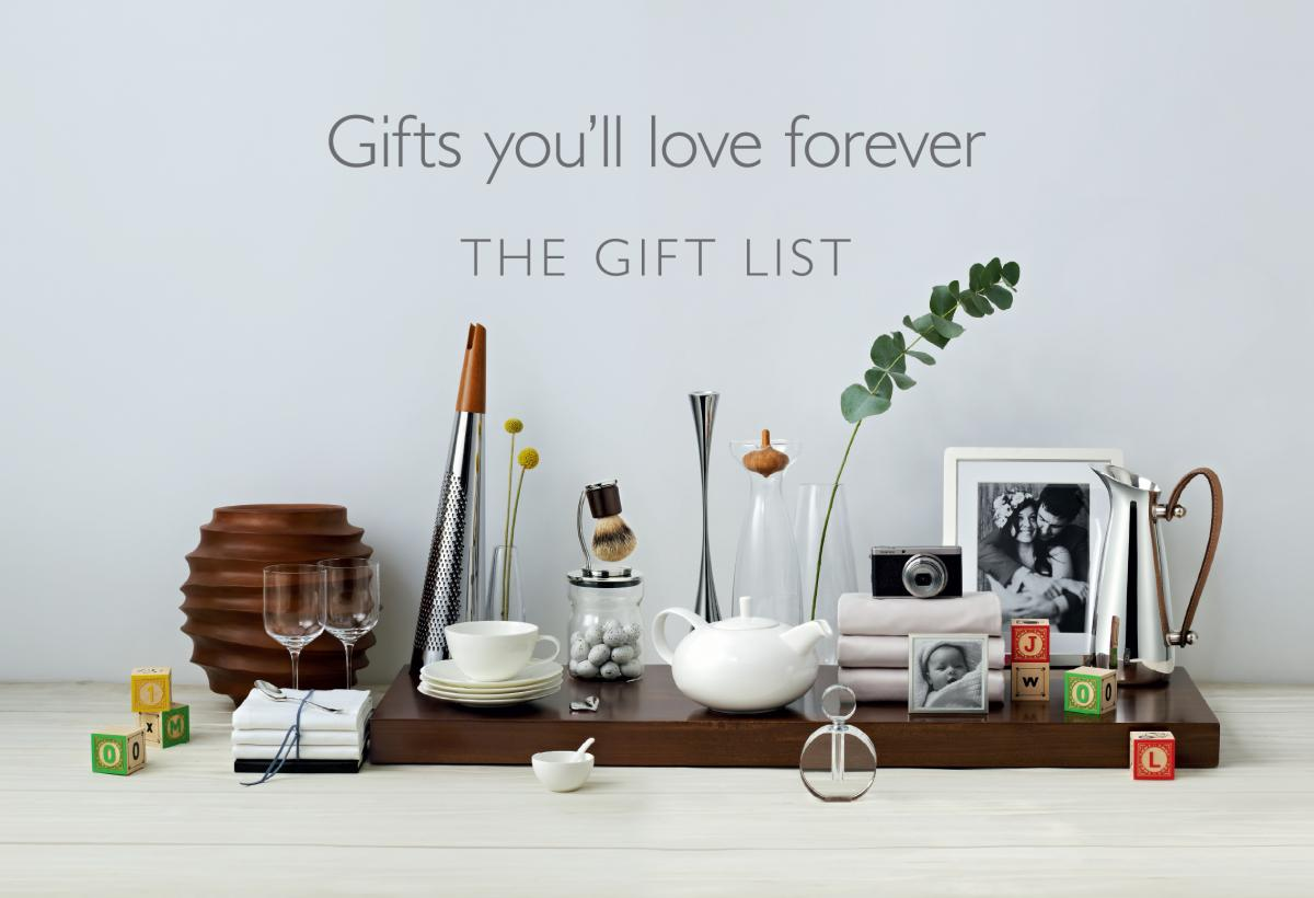 Wedding Gifts John Lewis: Wedding Gift List Wording John Lewis