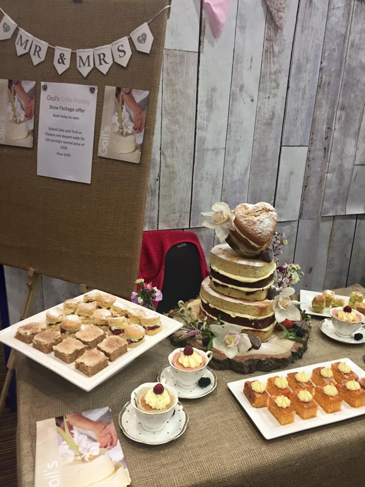 Midland Wedding Show wedding fayre Gails wedding cake pantry at aston villa