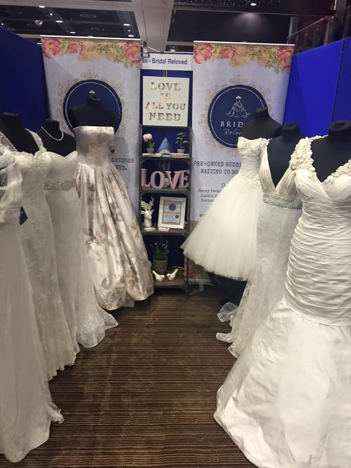 Midland Wedding Show wedding dresses bridal wear at Aston Villa Bridal Reloved