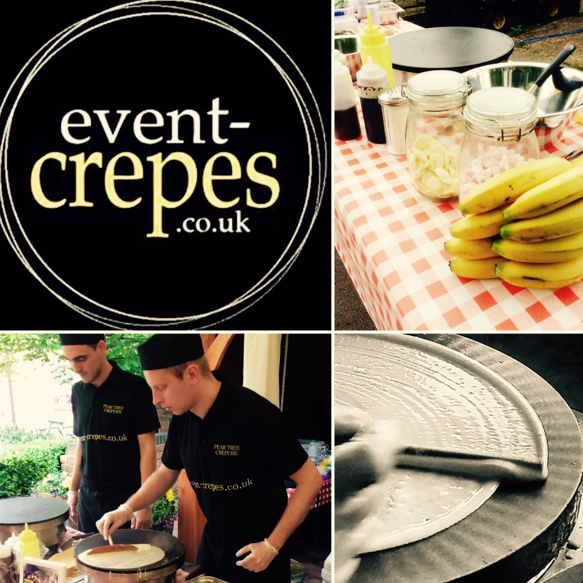 Event Crepes at Midland Wedding Show wedding fayre at National Motorcycle Museum
