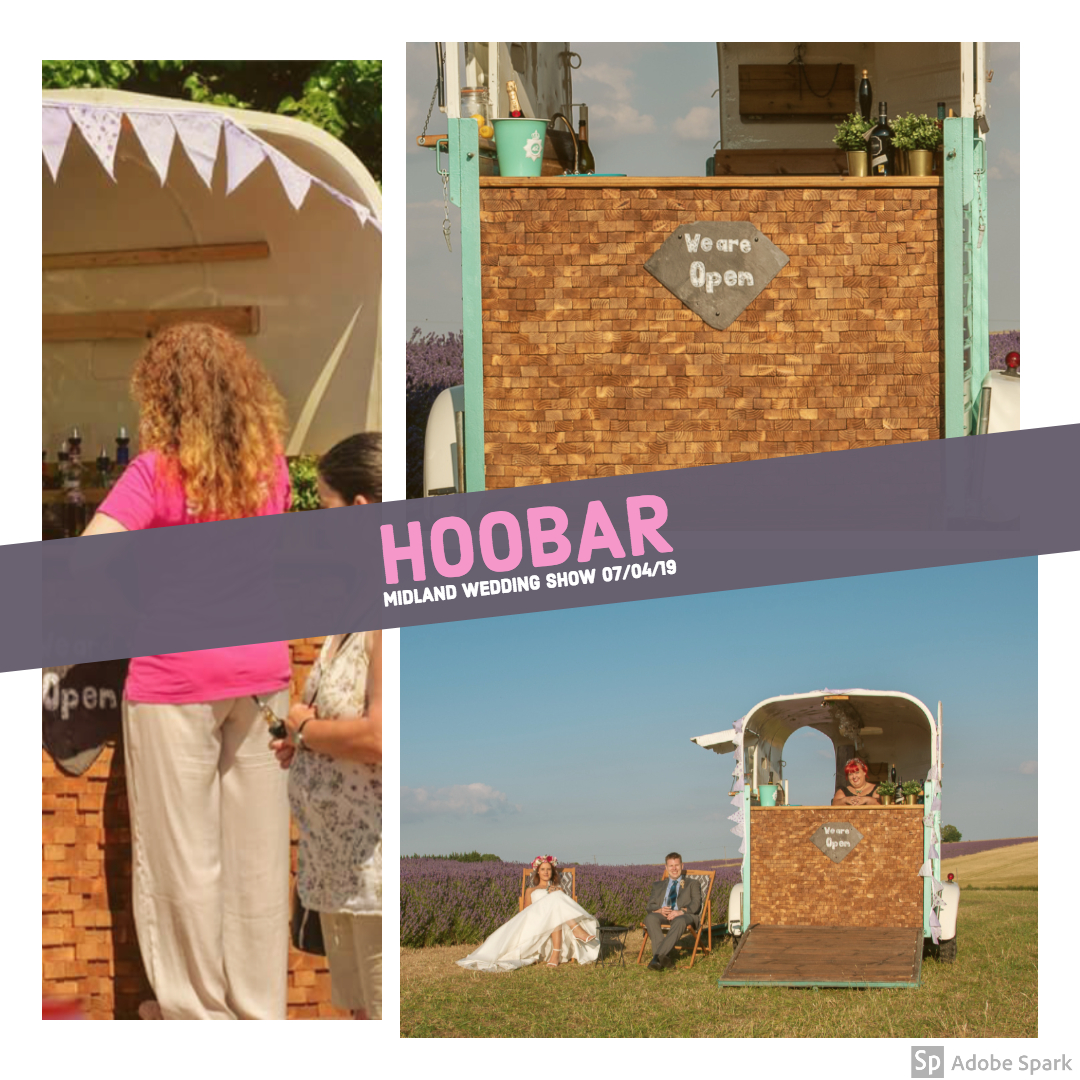 HooBarBar at the Midland Wedding Show wedding fayre 7th April 2019