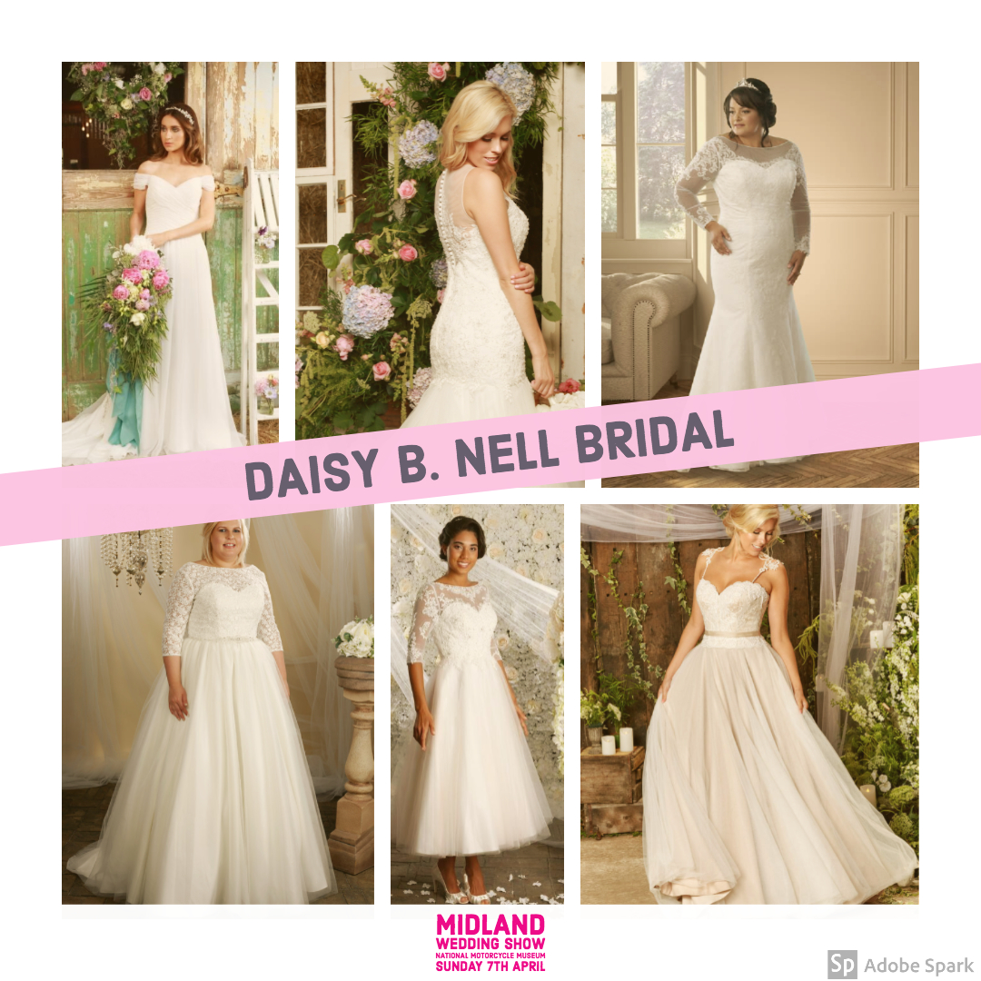 Daisy B Nell bridal at Midland Wedding Show wedding fair 7th April 2019