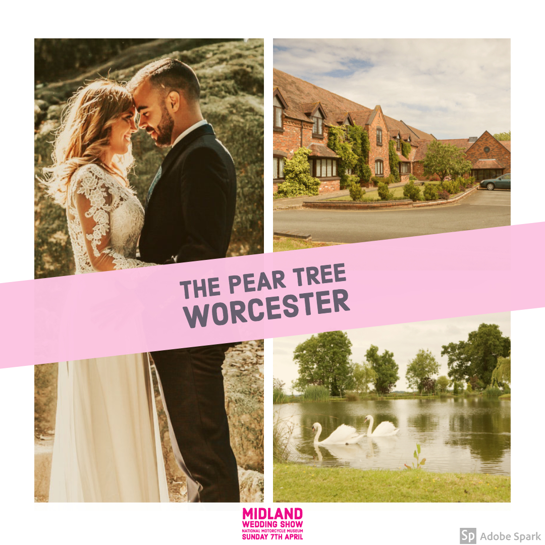 The Pear Tree at Midland Wedding Show 7th April 2019