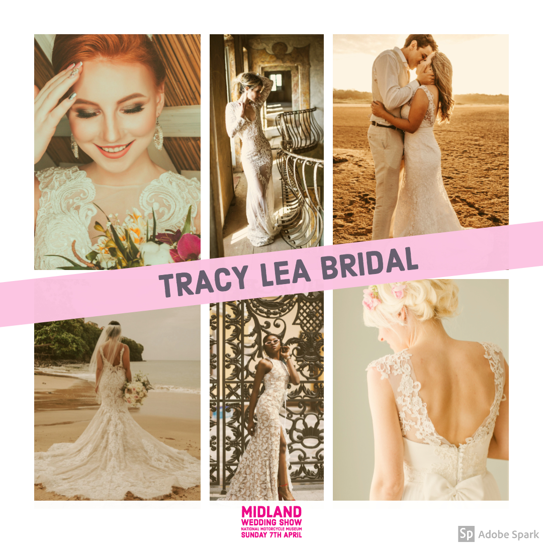 Tracy Lea Bridal at Midland Wedding Show wedding fair 7th April 2019