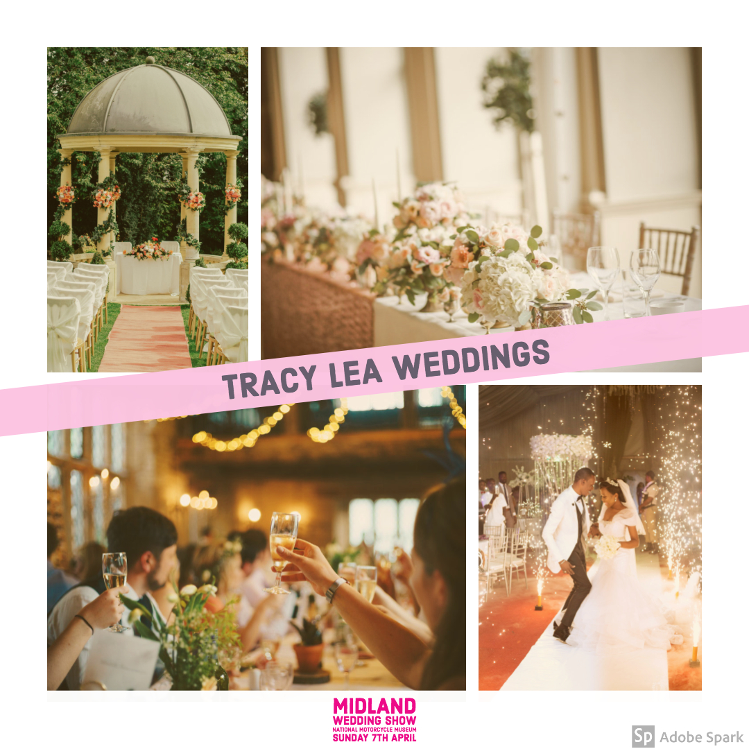 Tracy Lea Weddings at Midland Wedding Show 7th April