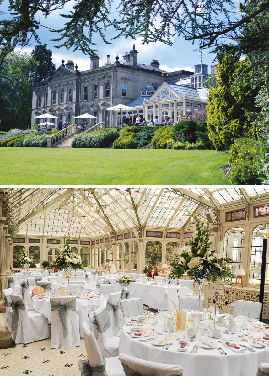Kilworth House wedding venue at Midland Wedding Show wedding fayre wedding fair at National Motorcycle museum 10th september