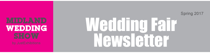 wedding fair wedding fayre midland wedding show newsletter header