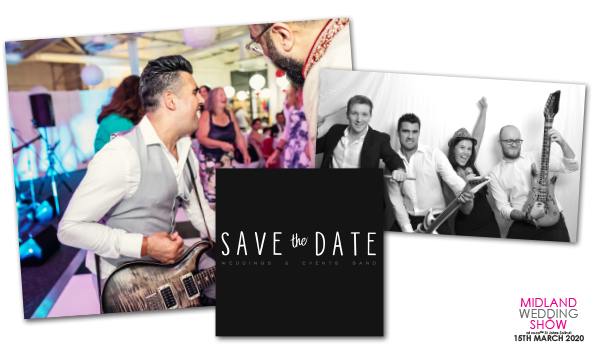 Save The Date Band Wedding Entertainment Midland Wedding Show wedding fair