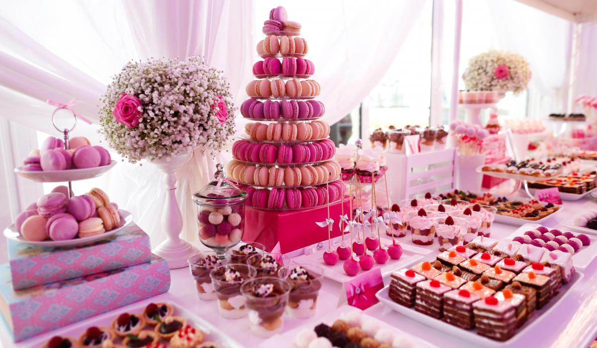 Cakes, Confectionery & Chocolate Fountains | The Midland Wedding ...