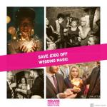 Save £100 off wedding magician at Midland Wedding Show wedding fair 7th April 2019