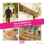 Win afternoon tea at Marriott Forest of Arden wedding venue at Midland Wedding Show wedding fair 7th April 2019